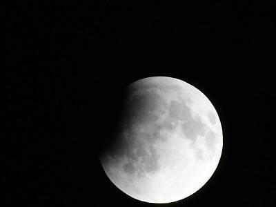 Photograph - 4-14-14 Moon by Susan Sidorski