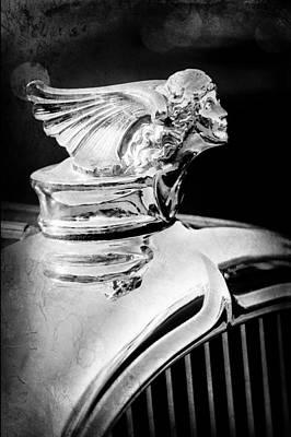 Photograph - 1927 Buick Goddess Hood Ornament by Jill Reger