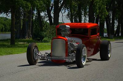 Photograph - 1930 Ford Coupe Hot Rod by Tim McCullough