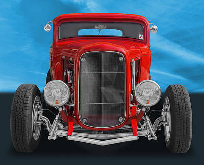 Photograph - 1932 Ford by Frank J Benz