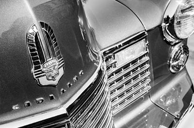 Caddy Photograph - 1941 Cadillac Emblem by Jill Reger