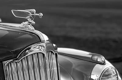 1942 Photograph - 1942 Packard Darrin Convertible Victoria Hood Ornament by Jill Reger
