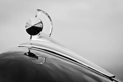 1949 Ford Hood Ornament Art Print by Jill Reger