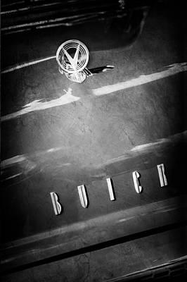 Photograph - 1955 Buick Roadmaster Hood Ornament - Emblem by Jill Reger
