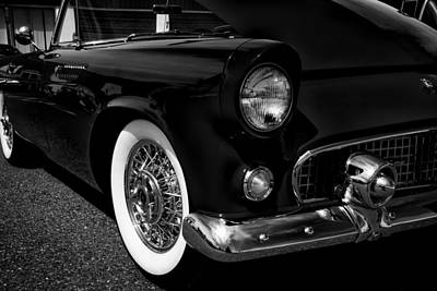 Old Photograph - 1955 Ford Thunderbird by David Patterson