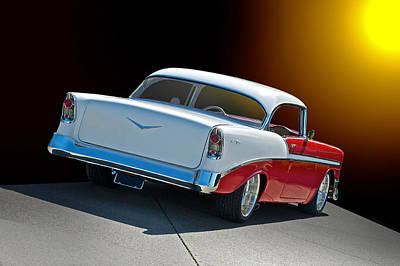 1956 Chevrolet Bel Air Print by Dave Koontz