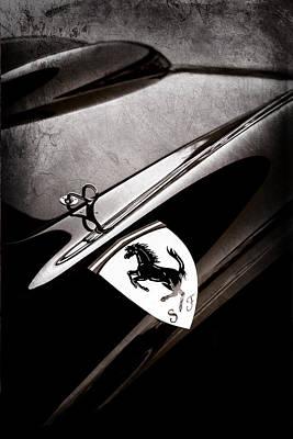 Photograph - 1957 Ferrari Tr 250 - 0714 Emblem by Jill Reger