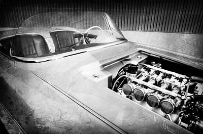 Photograph - 1960 Chevrolet Corvette Custom Engine by Jill Reger