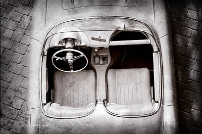 Photograph - 1960 Chevrolet Corvette Interior by Jill Reger
