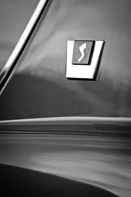 Photograph - 1964 Studebaker Avanti Emblem by Jill Reger