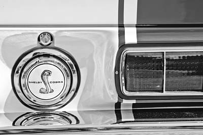 Photograph - 1968 Ford Mustang Fastback 427 Ci - Cobra Emblem by Jill Reger