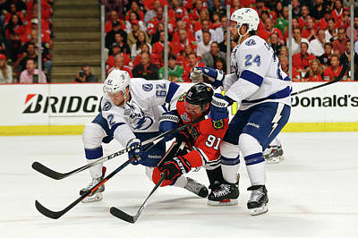 Photograph - 2015 Nhl Stanley Cup Final - Game Six by Bruce Bennett