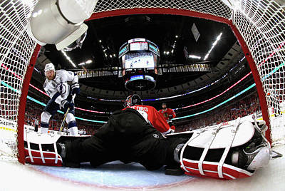 Photograph - 2015 Nhl Stanley Cup Final - Game Six by Dave Sandford