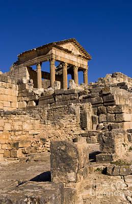 2nd Century Roman Ruins, Tunisia Art Print