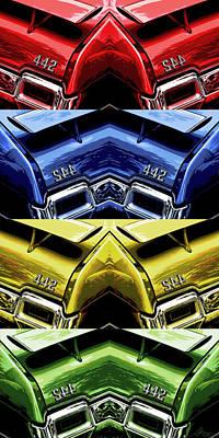 Photograph - 4 - 4 - 2 X 4 X 2 by Gordon Dean II