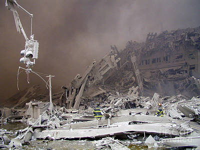 9-11-01 Wtc Terrorist Attack Art Print