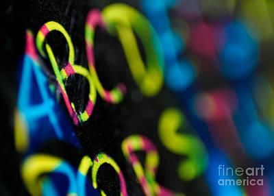 A B C D E F G Art Print by Amy Cicconi