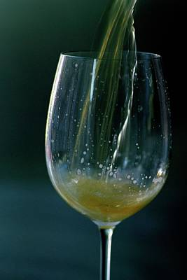 Pouring Wine Photograph - A Glass Of Beer by Romulo Yanes