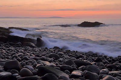Down East Maine Photograph - Acadia Dawn by Stephen  Vecchiotti