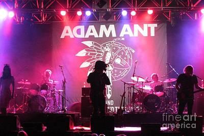 Adam Ant Photograph - Adam Ant by Daniel Diaz