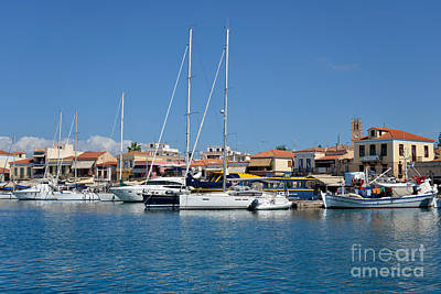 Photograph - Aegina Port by George Atsametakis