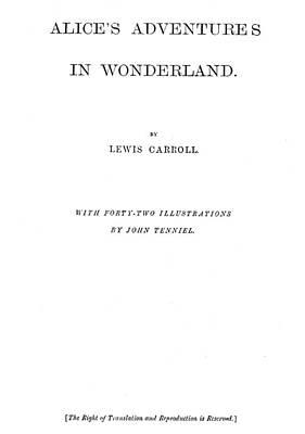 Alice In Wonderland Painting - Alice In Wonderland, 1865 by Granger