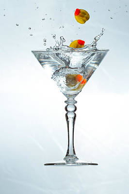 Martini Royalty-Free and Rights-Managed Images - Alkochol Drink by Peter Lakomy
