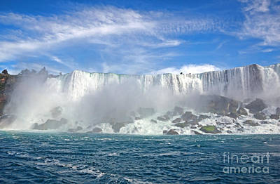 Photograph - American Falls by Charline Xia