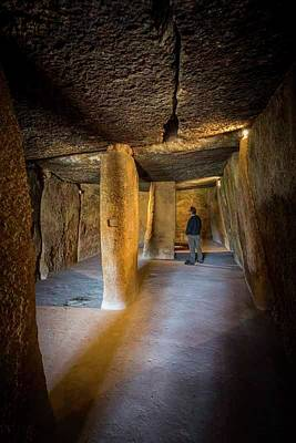 Megalith Photograph - Antequera, Andalusia, Spain by Ken Welsh