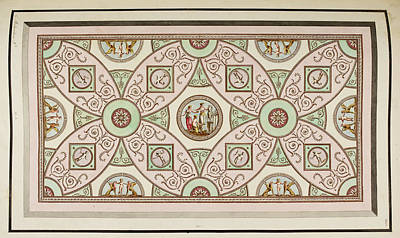 Antique Grotesque Ceilings Art Print