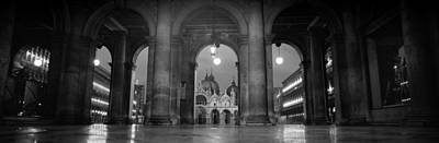 Arcade Of A Building, St. Marks Square Art Print