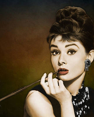 Actor Photograph - Audrey Hepburn by Retro Images Archive