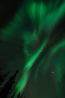 Photograph - Aurora Corona by Roger Clifford