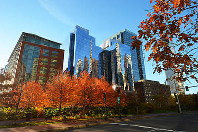 Autumn In Boston Art Print by Toby McGuire