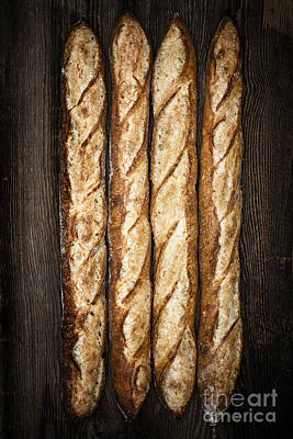 Arranges Photograph - Baguettes by Elena Elisseeva