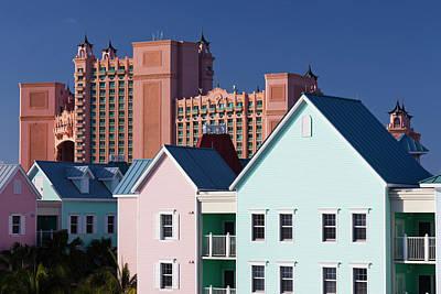 Atlantis Photograph - Bahamas, New Providence Island, Nassau by Walter Bibikow