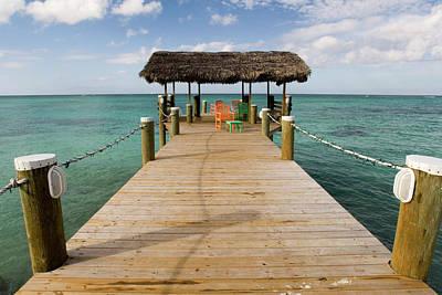 Bahamas Pier Photograph - Bahamas by Sergi Reboredo