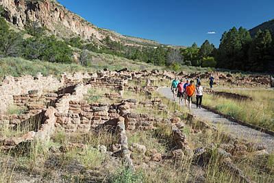 Bandelier National Monument Art Print by Jim West