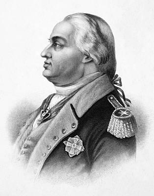 Lapel Photograph - Baron Friedrich Von Steuben by Granger