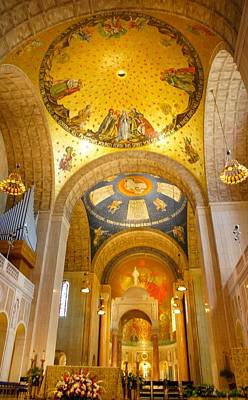 Immaculate Photograph - Basilica Of The National Shrine  by Art Spectrum
