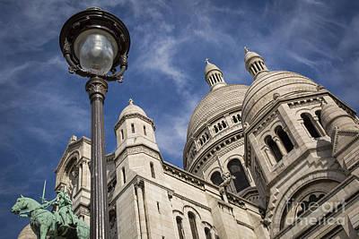 Sacre Coeur Photograph - Basilique Du Sacre Coeur by Brian Jannsen