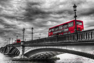 Photograph - Battersea Bridge London by David Pyatt