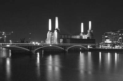 Photograph - Battersea Power Station London by David French