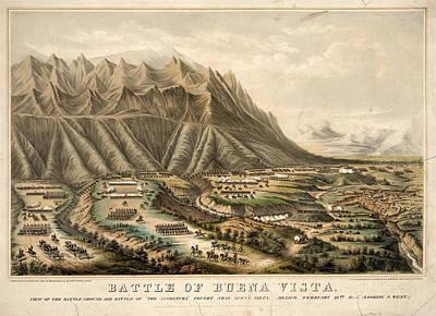Battle Of Buena Vista, 1847 Art Print by Granger