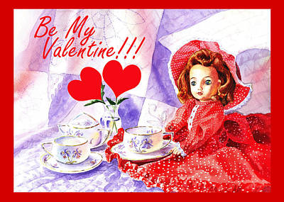 Painting - Be My Valentine by Irina Sztukowski