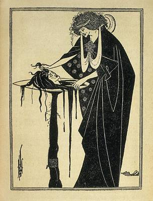 Beardsley, Aubrey Vincent 1872-1898 Art Print by Everett