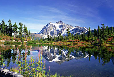 Cascade Mountains Snoqualmie National Forest Photograph - Beauty In Nature by King Wu