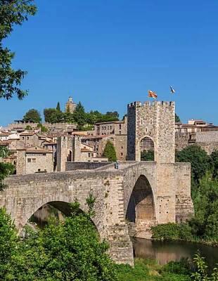 Besalu, Catalonia, Spain Art Print by Ken Welsh