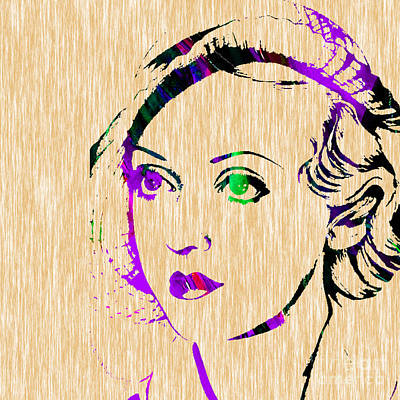 Bette Davis Collection Art Print