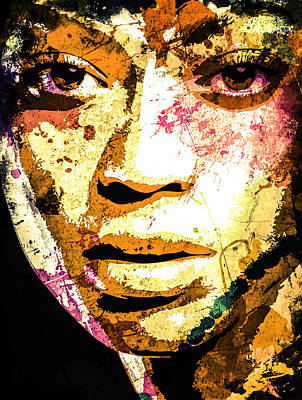 Digital Art - Beyonce by Svelby Art